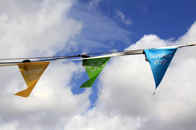 London Olympic Games Flags photograph