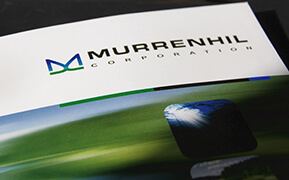 Murrenhil Corp. Brand Identity Design. Brochures and Website Development.