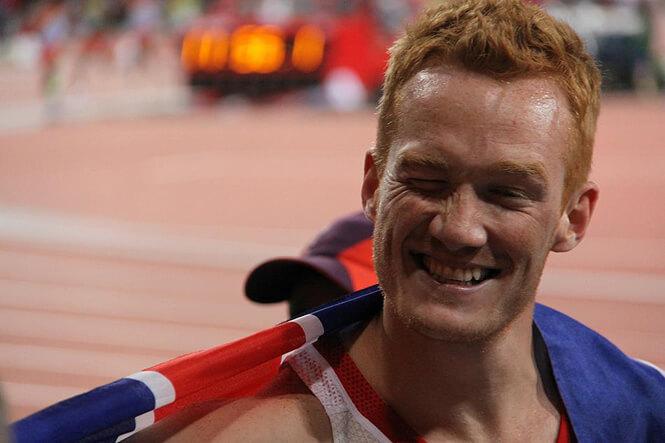 US Athlete smiles photograph by Elena Loga