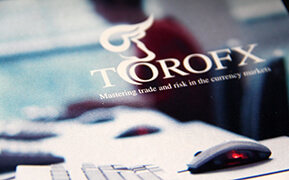 ToroFx. Logo Design. Stationery Design. Corporate Brochures and Website Development. Case Study.