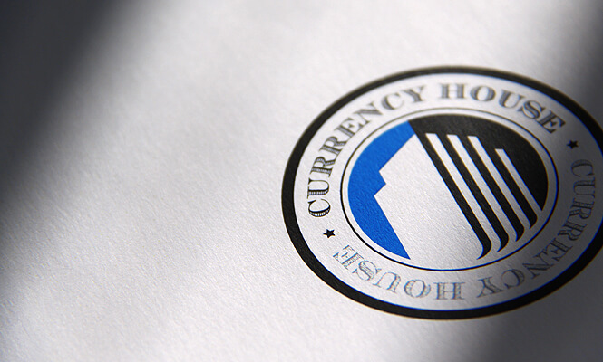 Currency House logo design