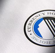 Currency House. Logo and Website Design