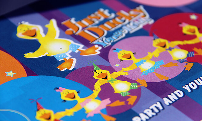 Just Ducky logo design photo