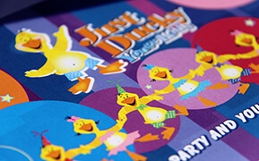 Case Study: Just Ducky Yonge Kids. Logo and Mascot Development. Brochures. Signs and Website Design.