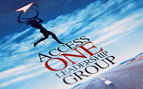 Access One Leadership Group. Brand Identity Design. Website Development.