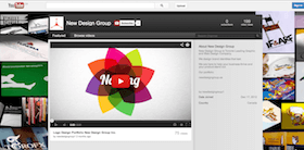 youtube channel design sample for business