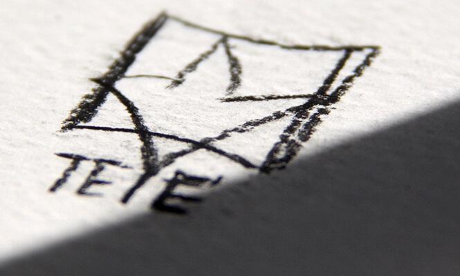 Teye logo sketch
