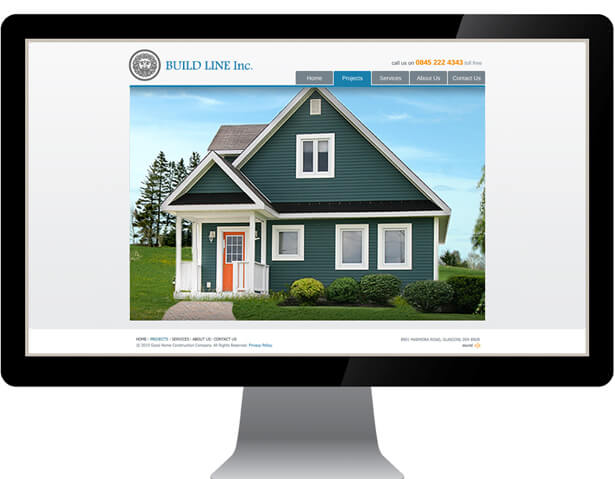 Builders Web Design by New Design Group
