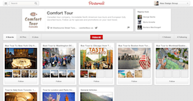 pinterest account setup and design for a company toronto