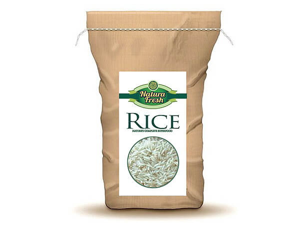 rice bag design image