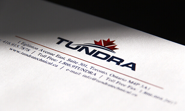 photograph of the Tundra Employment Solutions logo