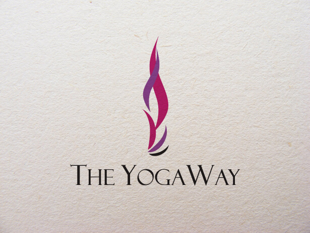 the yoga way logo design