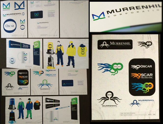 Murrenhil brand identity