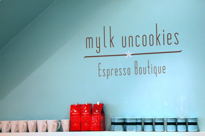 photo of inside interior of Mylk Uncookies