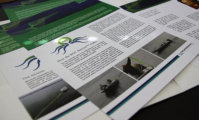 Presentation Folder Inserts Design