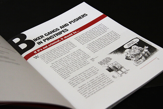 72 pages brochure design, layout and print preparation.