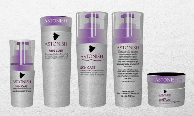 Different products Astonish. Photo By New Design Group Inc.