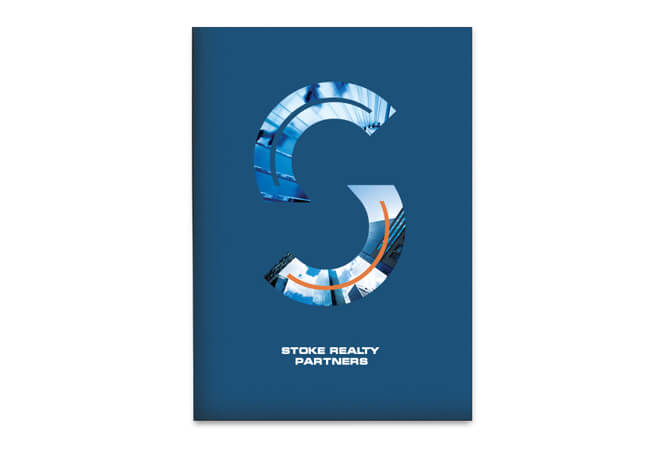 Stoke Realty Partners logo design