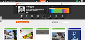 stumbleupon business page setup