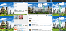 twitter account for travel company