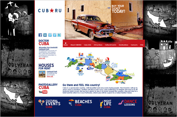 CUBA travel by New Design Group Inc image