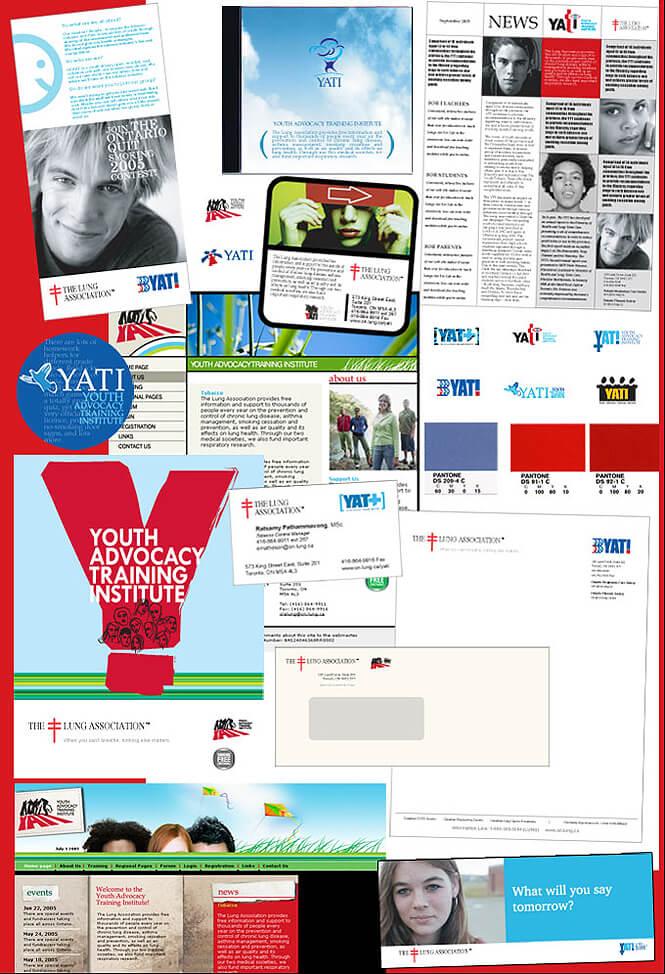 YATI brand identity design