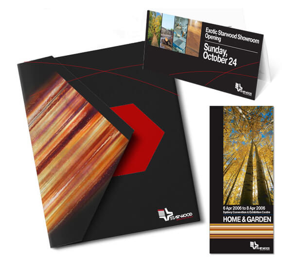 portfolio sample New Design group Inc. Presentation folder design