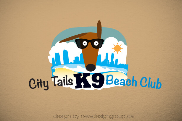 k9 pet business brand design
