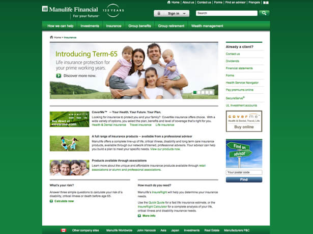 manulife_website