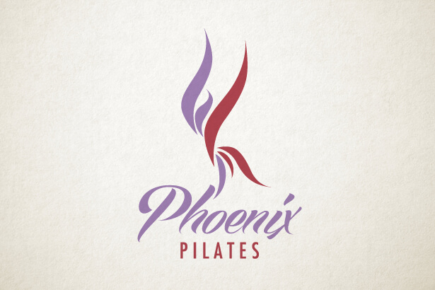 Pilates brand identity, logo design