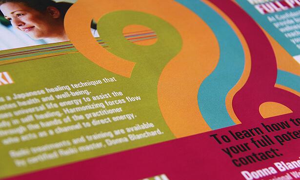 Company brochure design. Aspiring Edge.