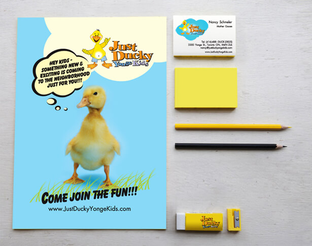 stationary design for Just Ducky, children's indoor playground