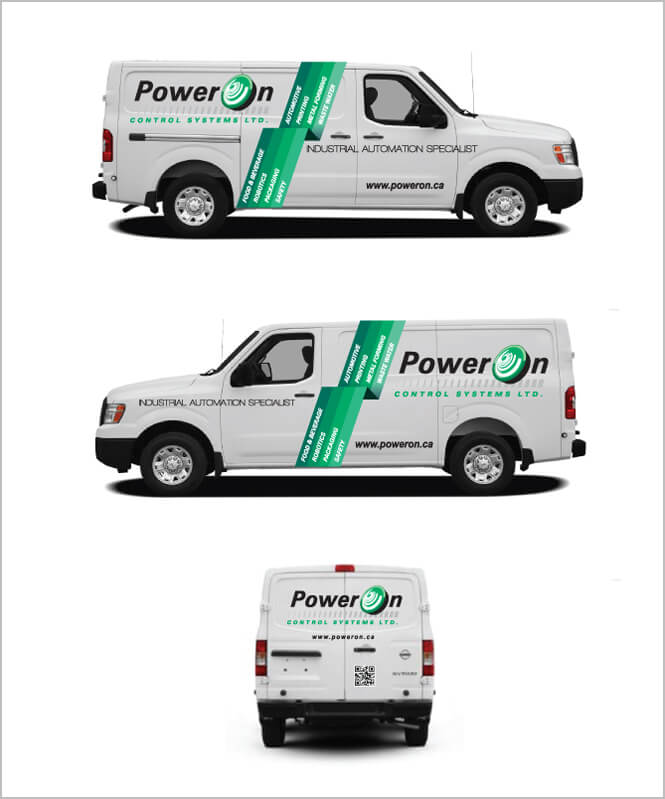 Car advertising for PowerOn
