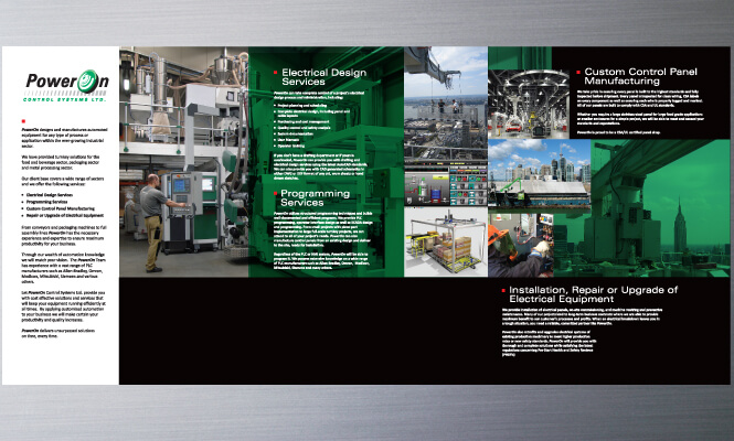 Brochure PowerOn front side
