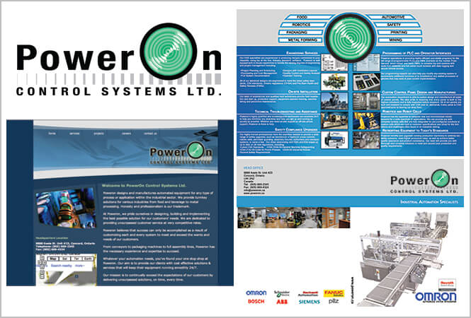 PowerOn Control Systems Old Branding
