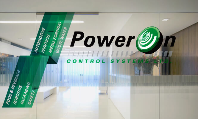 PowerOn logo design photo