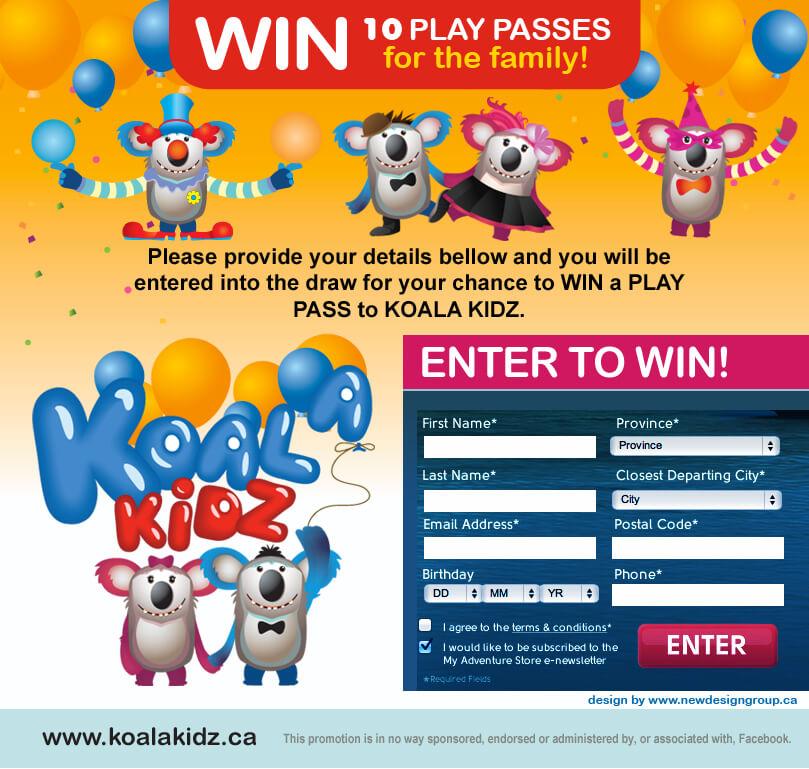 Koala Kidz social media campaign