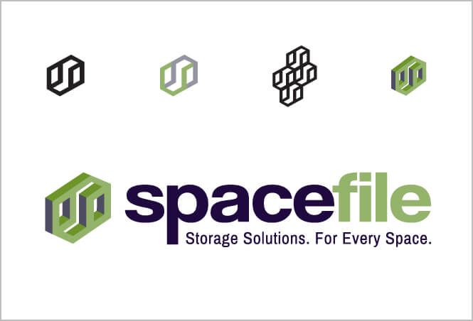 Spacefile logo different samples
