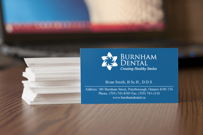 Business Card Design for Dental Clinic by New Design Group