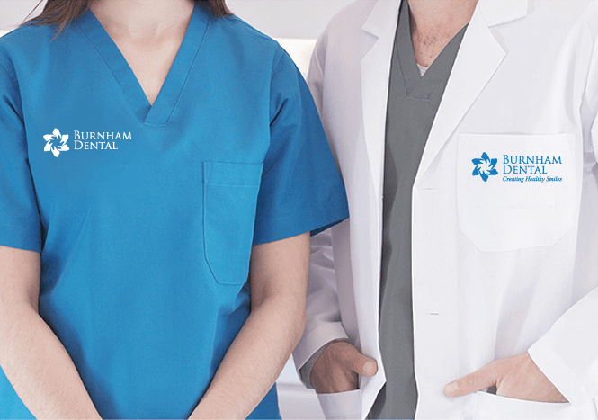 Branded Staff Uniforms for Dental Clinic by New Design Group