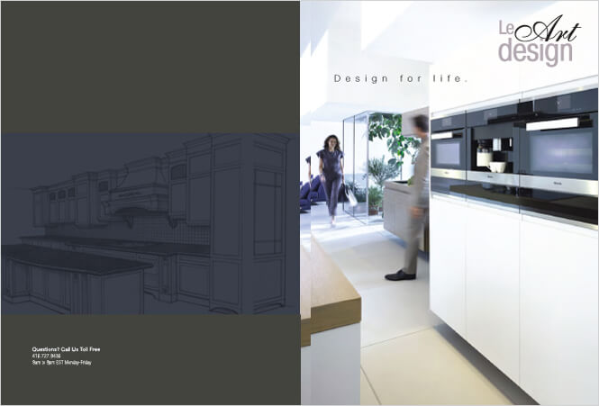 Brochure Design For Kitchen Designers