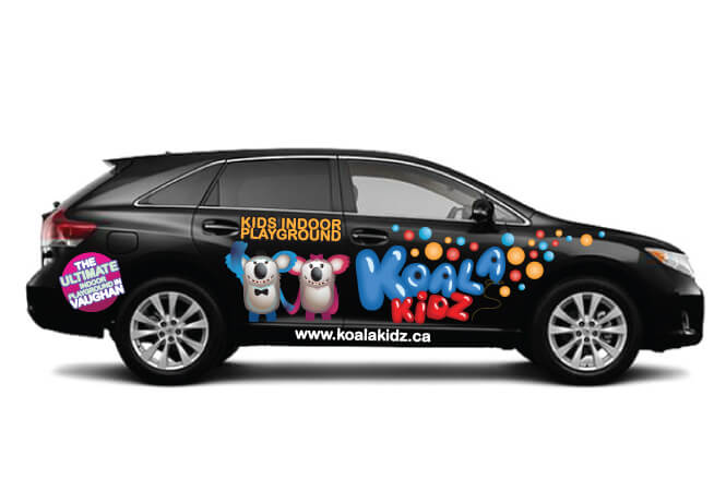 Koala Kidz Car Ads Design