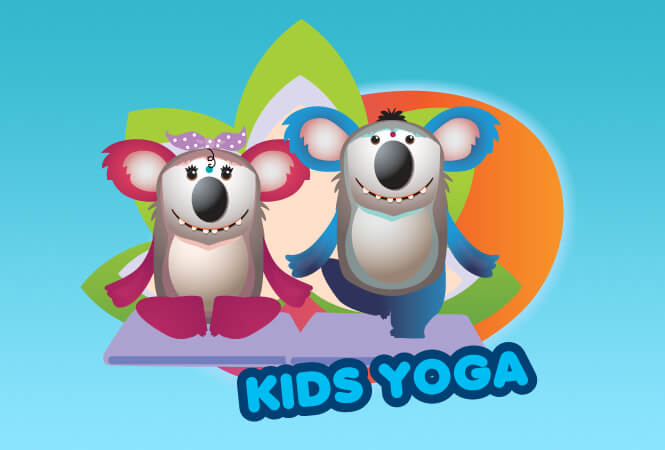 Koala Kidz yoga classes
