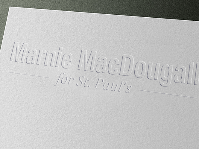 Business card design  Marnie MacDougall
