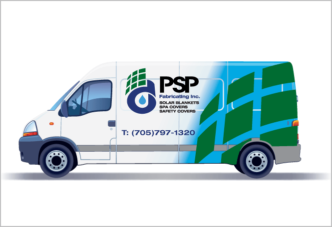 Vehicle Graphics for Manufacturing Company by New Design Group
