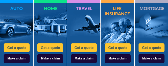web design quote function for insurance company website