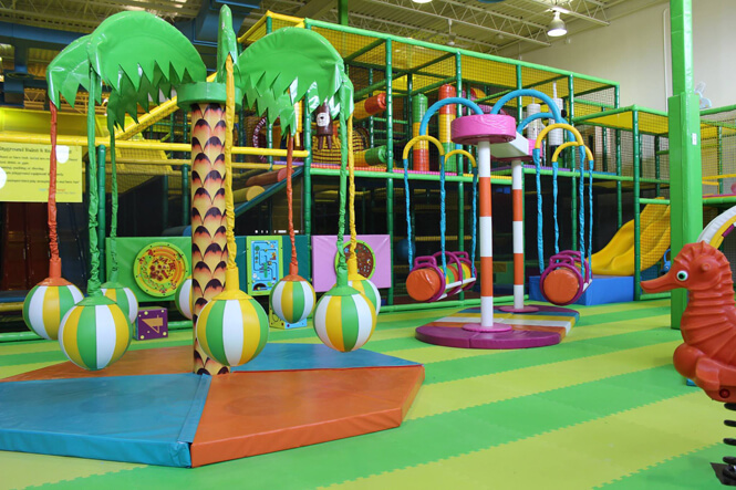Hop skip jump complete branding project new design for Indoor fun for kids near me