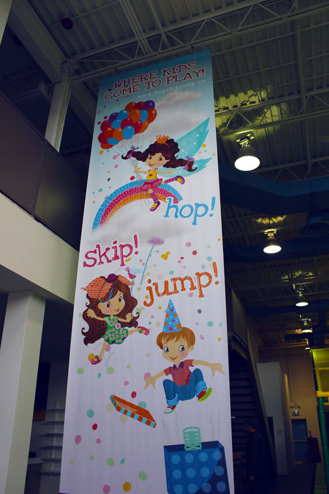Kids Indoor Playground Banner design by New Design Group