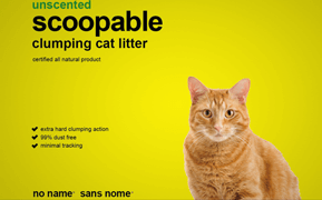 no name – Cat Litter Package Design