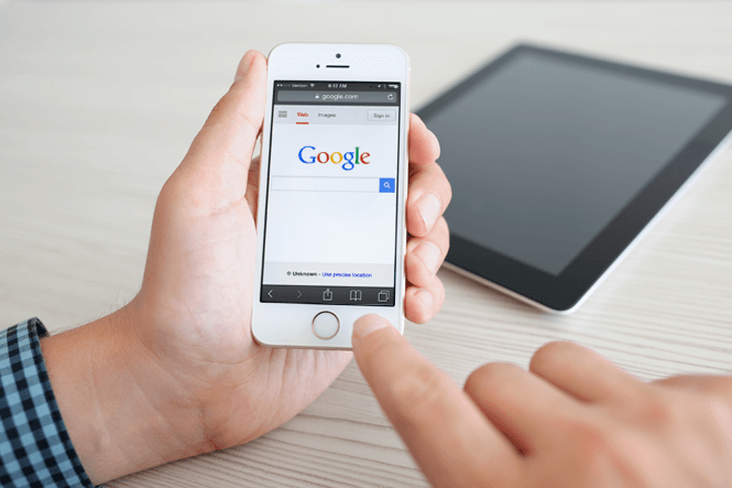 Google Rankings Mobile Friendly Website
